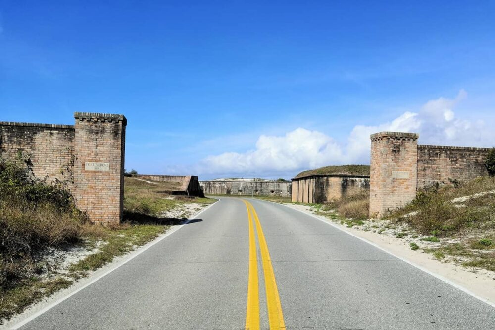 Entrance of Fort Pickens