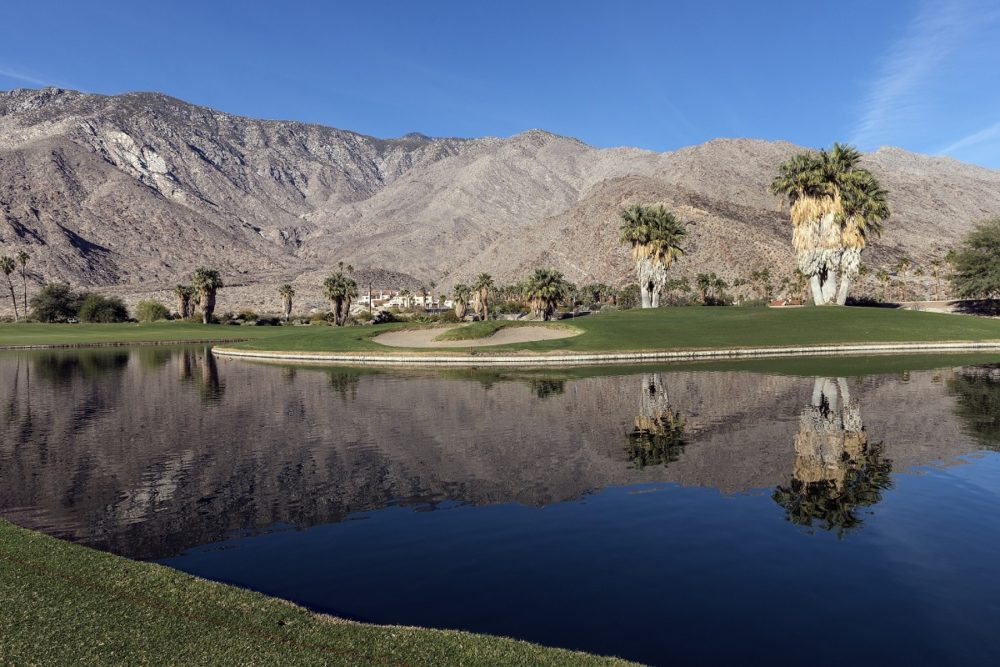 Golf course in Palm Springs
