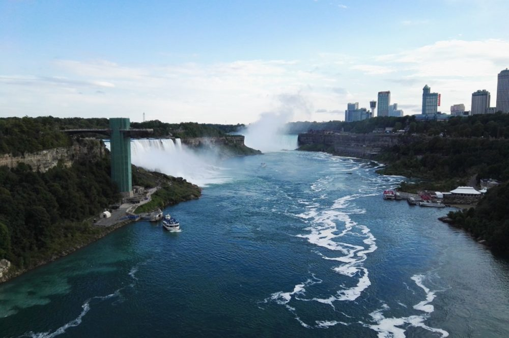 Niagara Falls Canada and USA