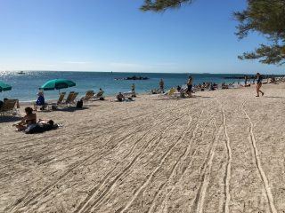 Our favourite beach in Key West, Florida