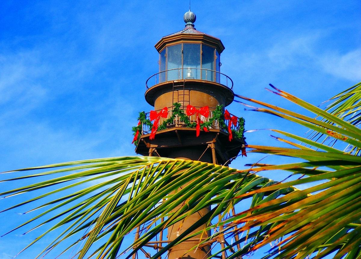 The lighthouse on Sanibel Island