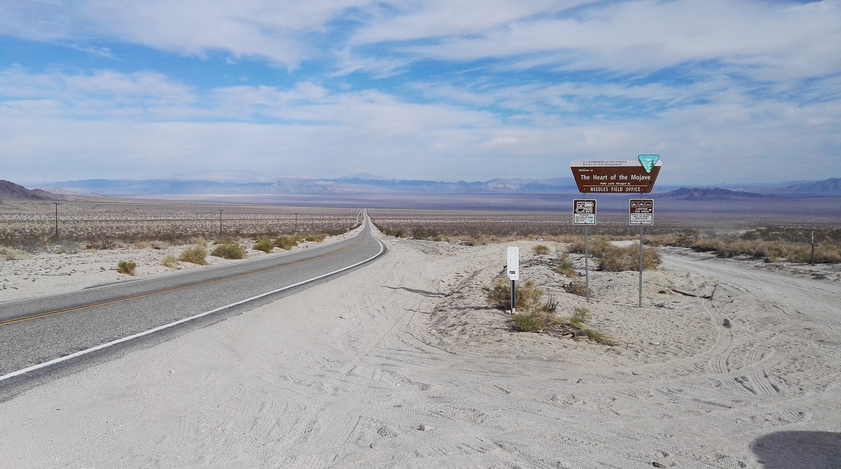 The heart of Mojave National Preserve