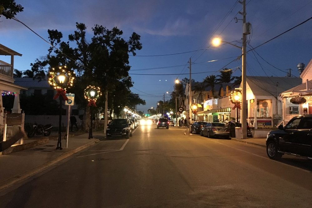 Southern part of Duval Street