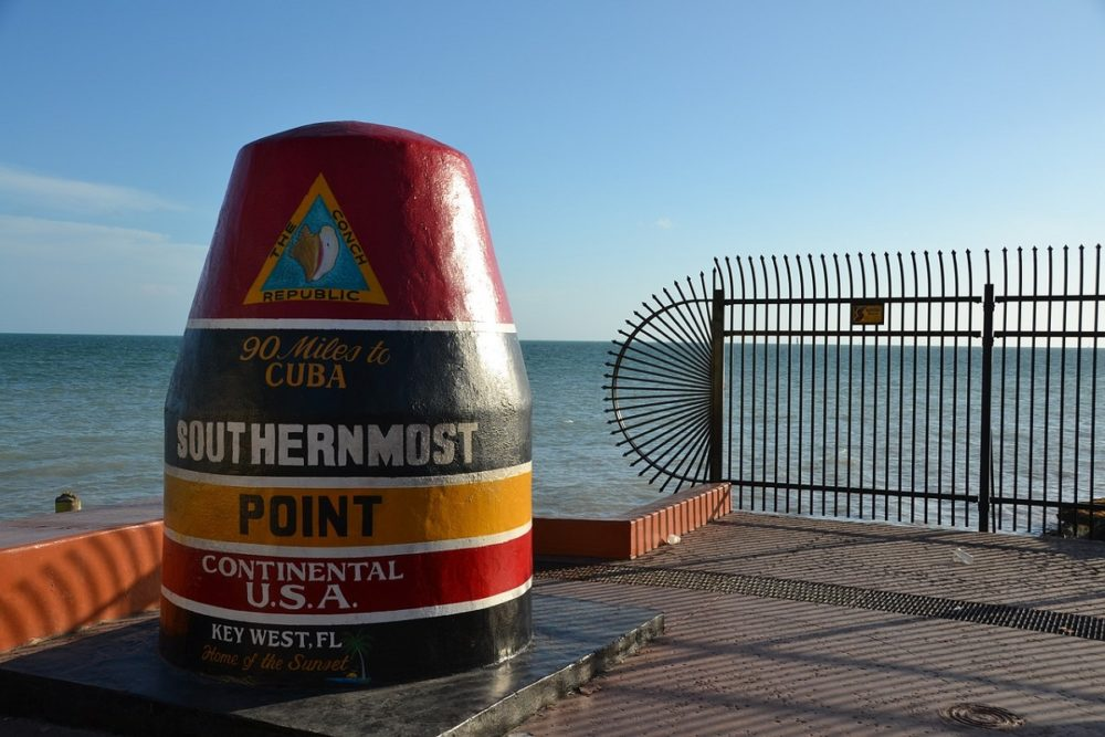 Southernmost Point monument