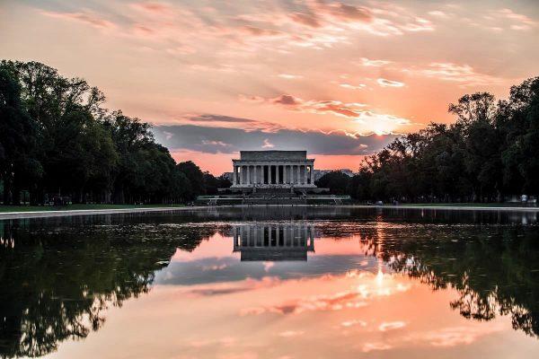 An evening walk in Washington, D.C