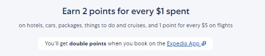 Expedia how to earn points