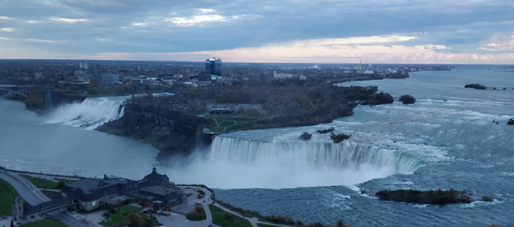 View from Marriott on the Falls