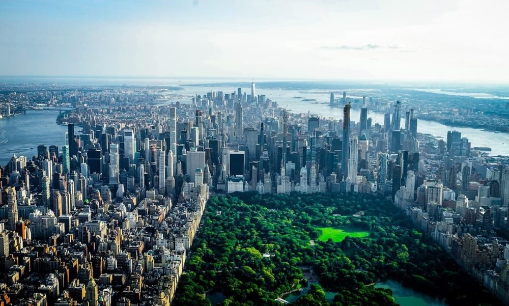 Central Park making New York City green