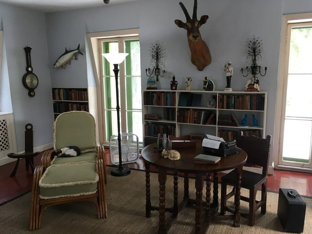 Hemingway's workplace