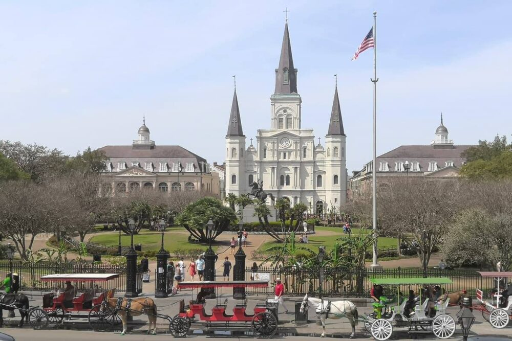 Jackson Square in NOLA