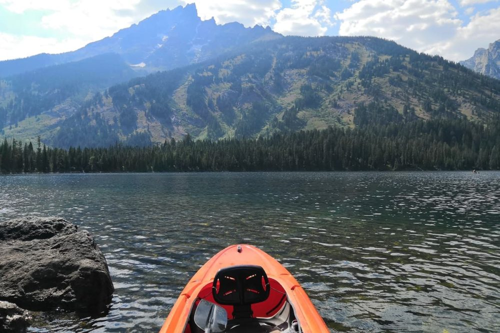 Road trip route including Grand Teton National Park