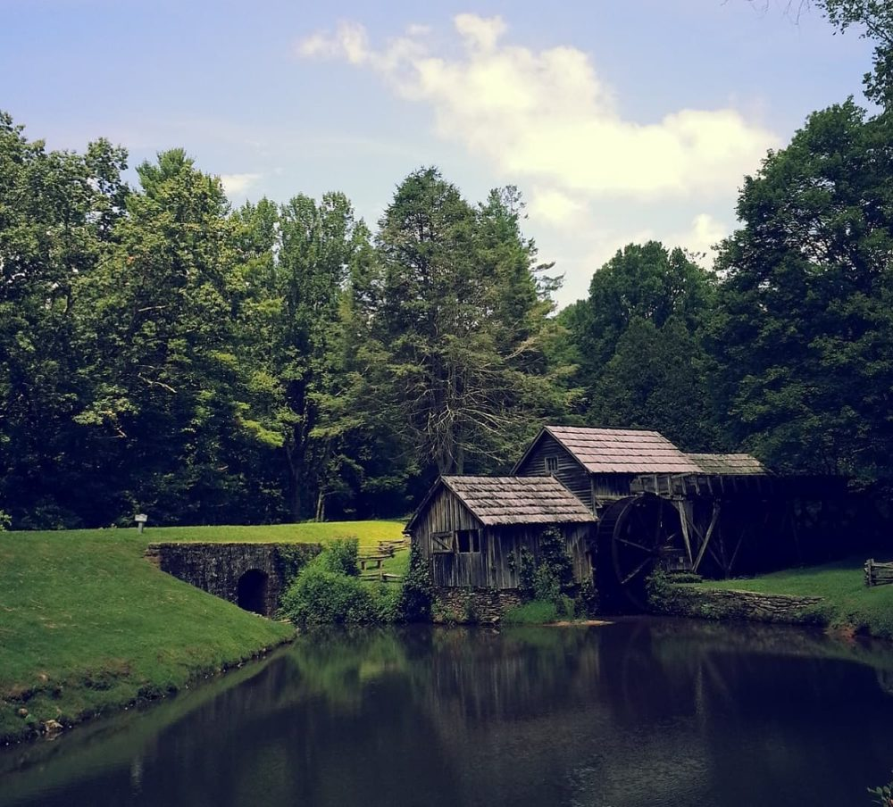 Mabry Mill of Blue Ridge Parkway road trip