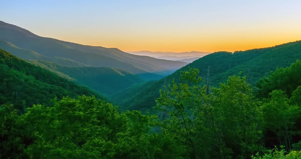 Cross country road trip and the Appalachian Mountains