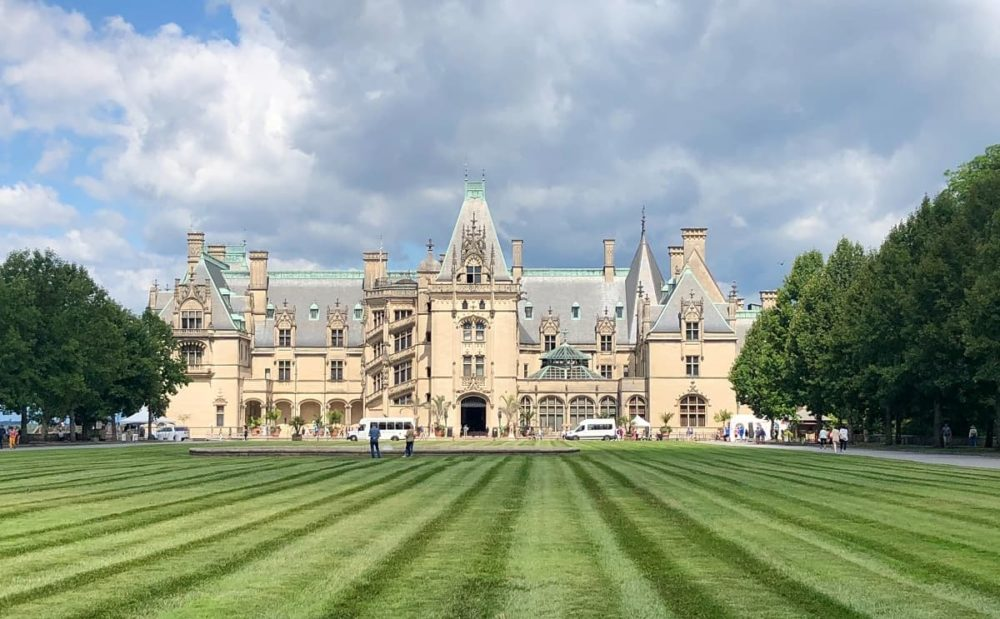 The Biltmore estate during cross country road trip