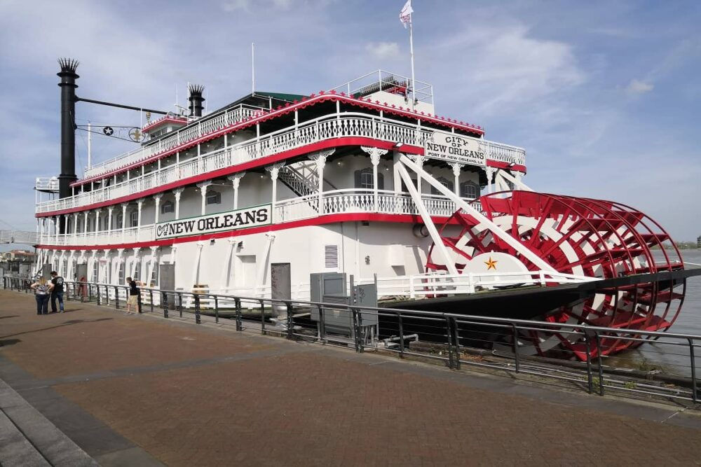 Steamer boat in New Orleans