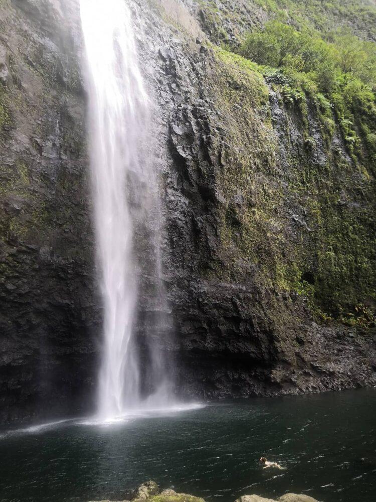Hanakapiai Falls at the ultimate Kauai hike