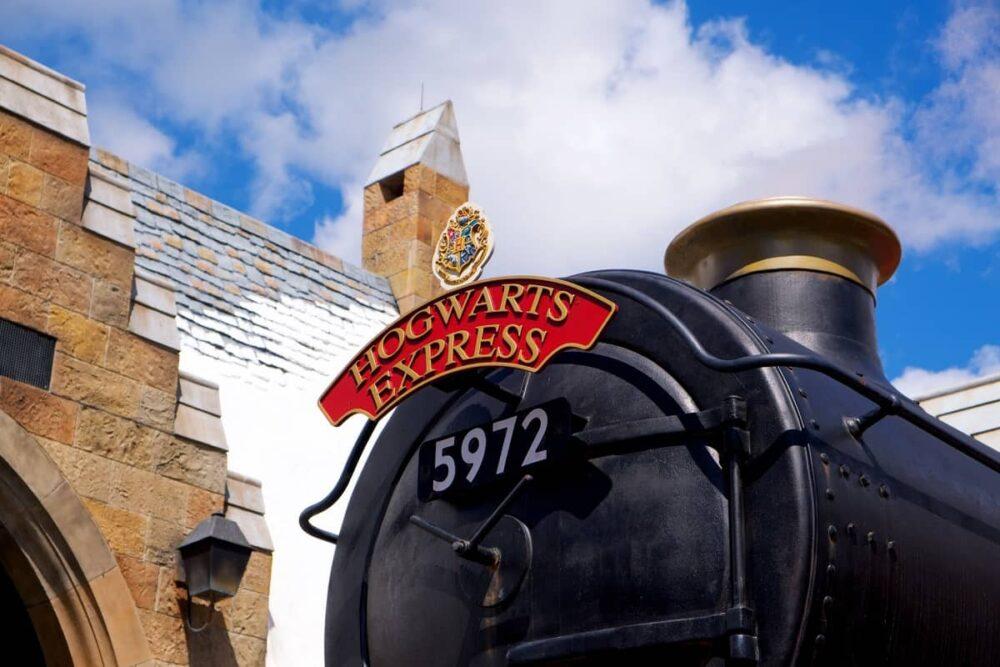 Harry Potter train in Orlando