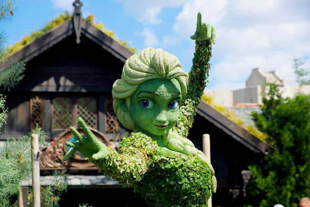 Disney character in Orlando