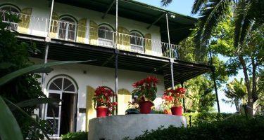 The beautiful Ernest Hemingway Key West Home & Museum, Florida