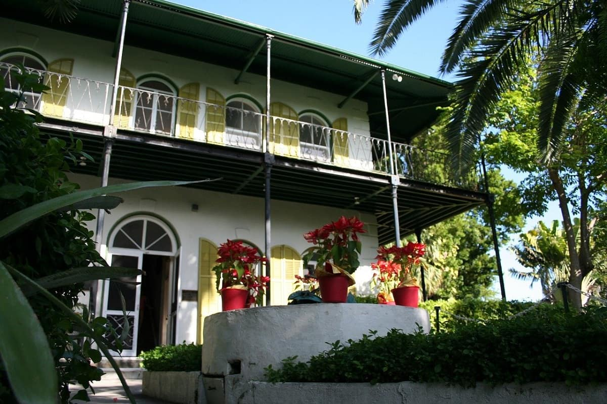 The beautiful Ernest Hemingway Key West Home & Museum, Florida