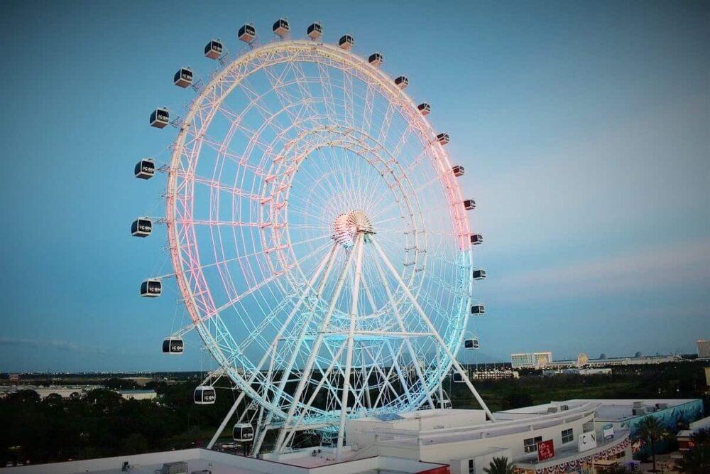 Ferris wheel at International Drive