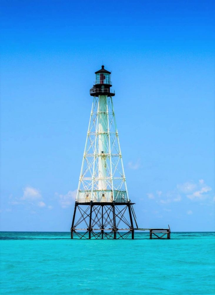 Lighthouse on the water