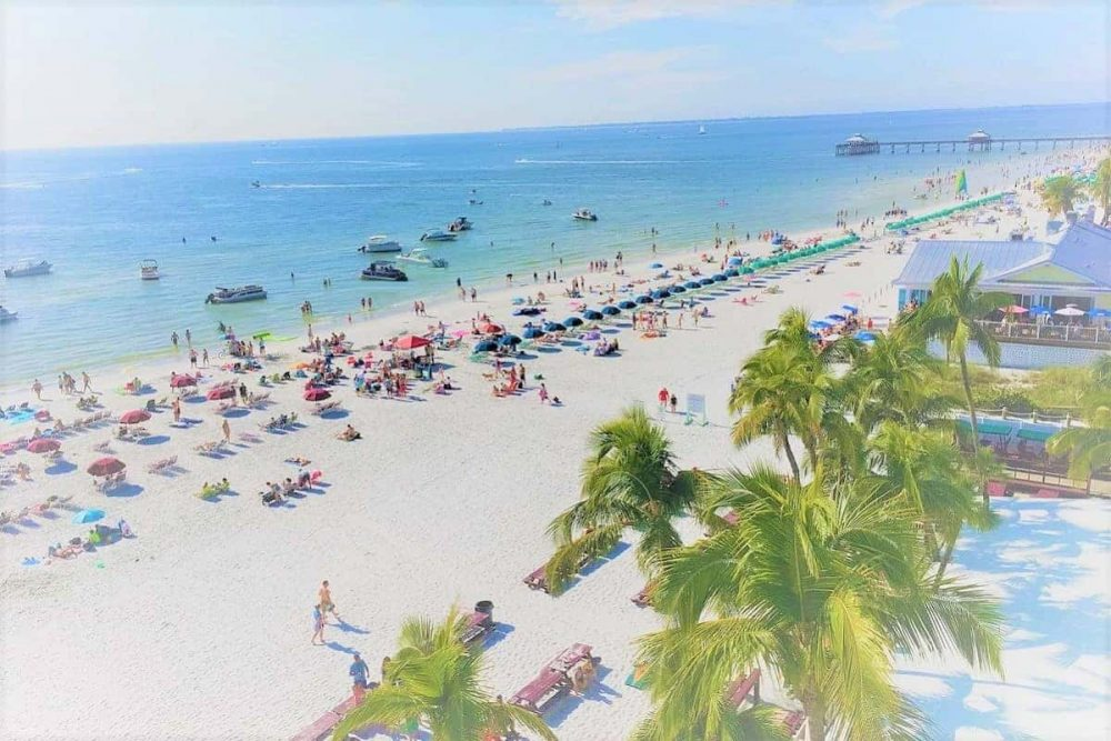 Fort Myers Beach view during daytime