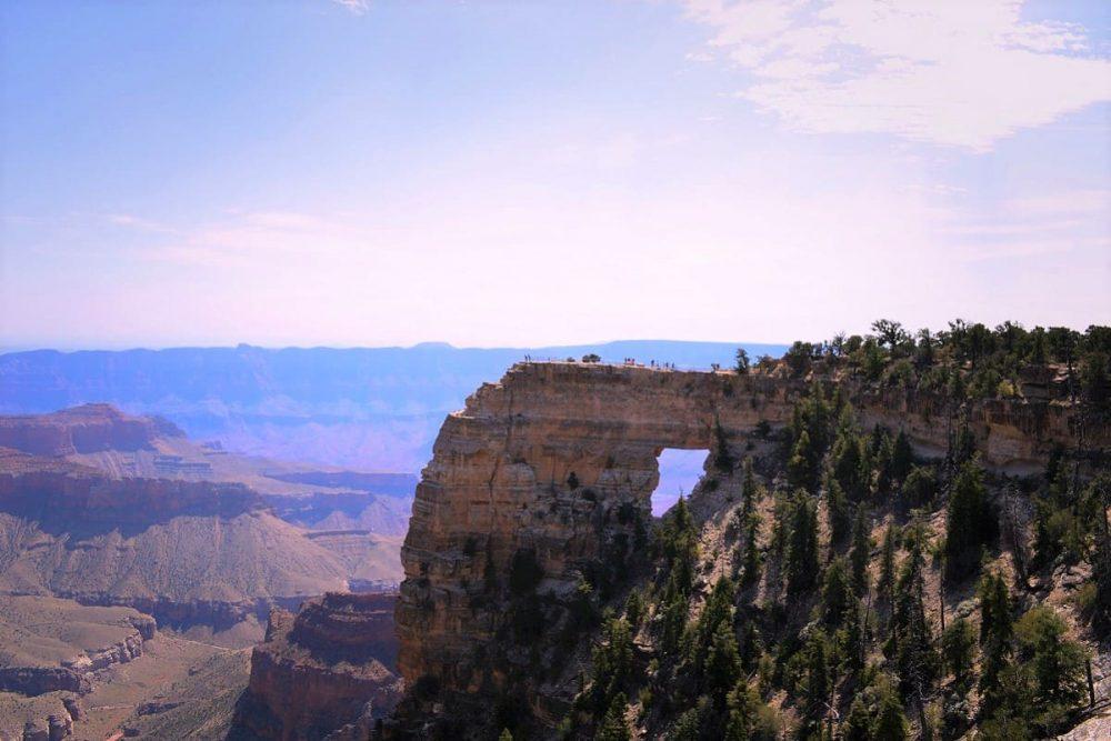 Rock formation at Grand Canyon NP