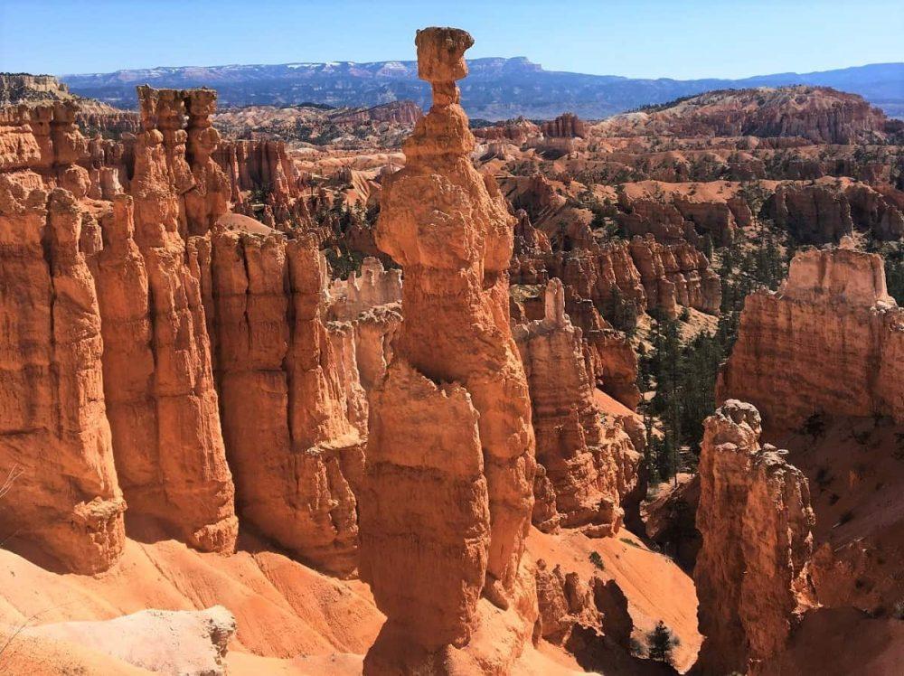 Rock hoodoo in Utah