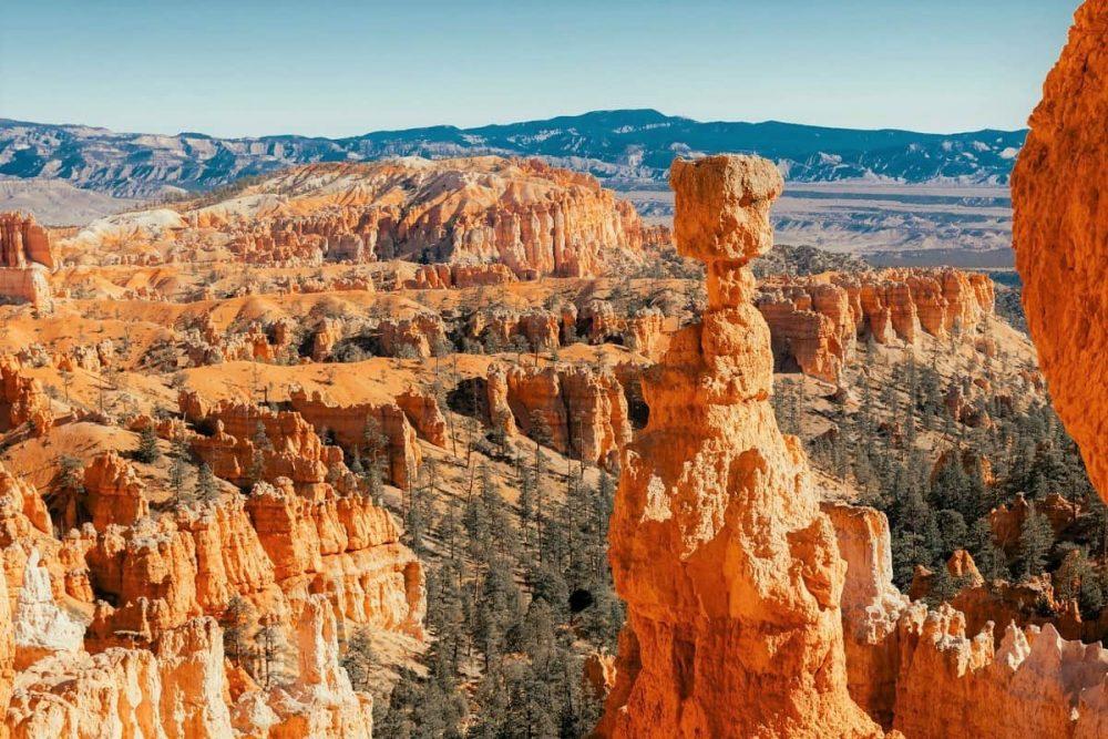 Rock hoodoos in Bryce Canyon National Park, Utah