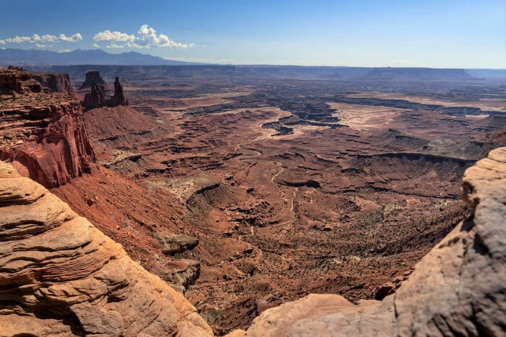 Canyonlands NP on mighty five road trip