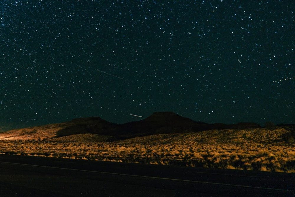 US89 in Page during nighttime