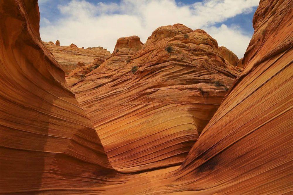 Wave trail in Kanab Utah
