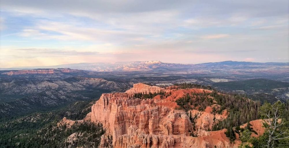 Overlook called Rainbow Point in Bryce Canyon National Park
