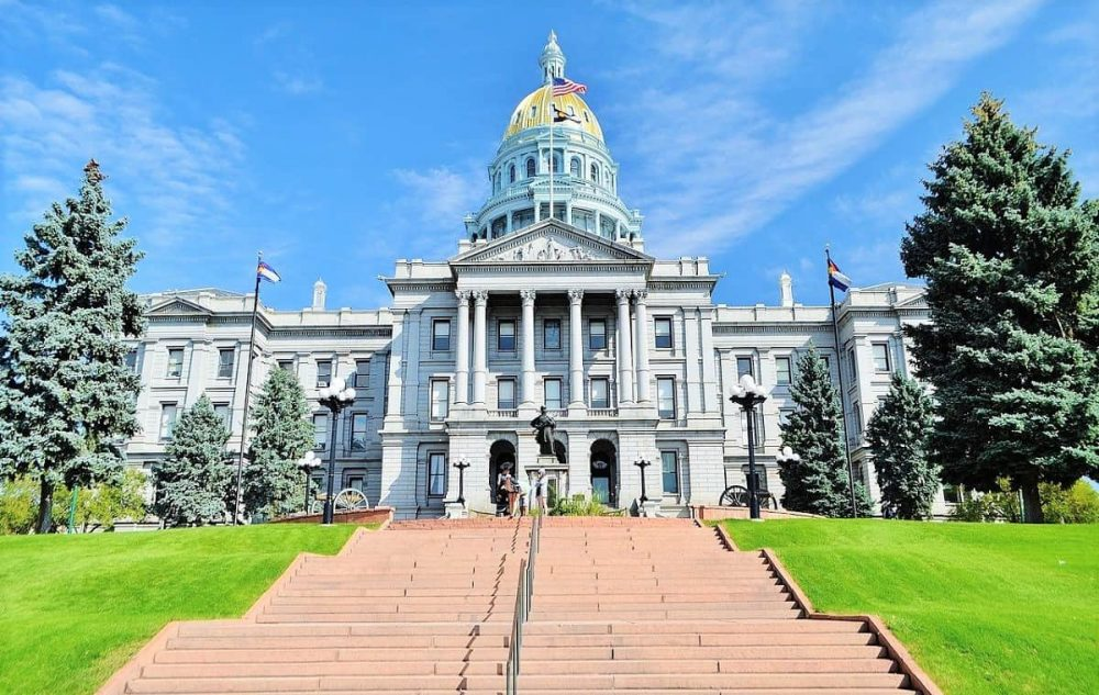 Capitol Building in Denver during sunny day