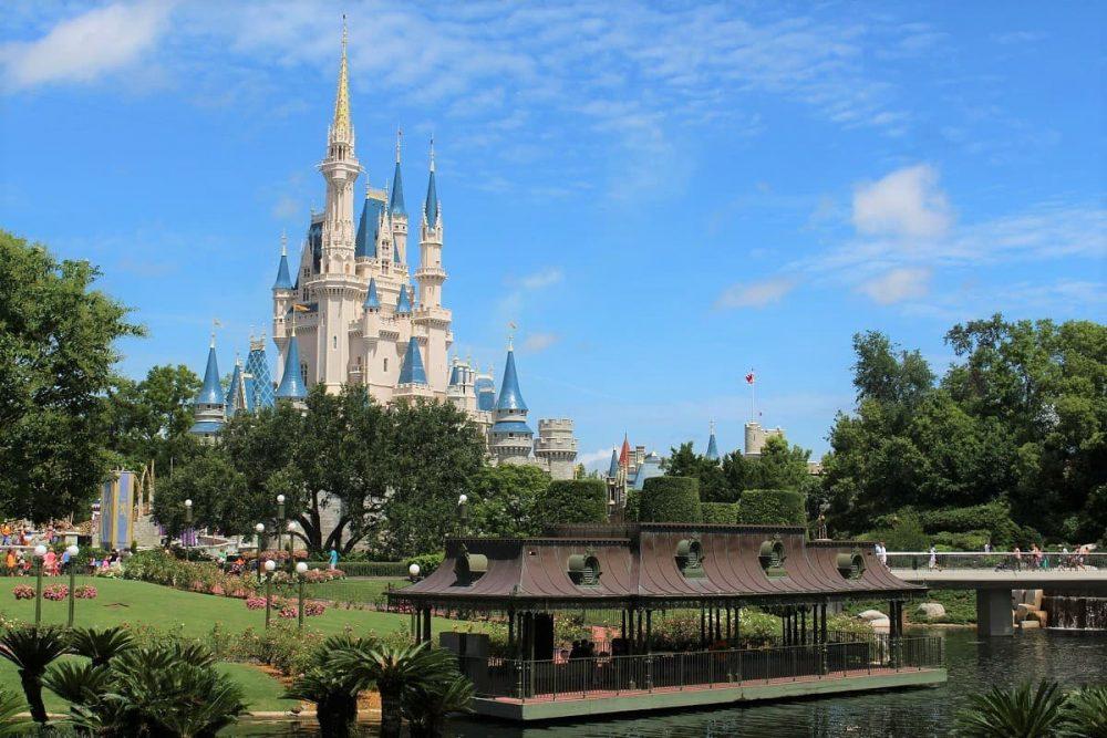 Walt Disney World castle in Orlando