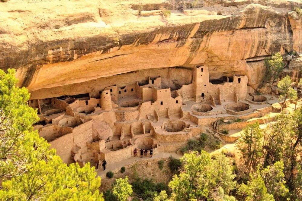 Cliff dwellings in Mesa Verde National Park