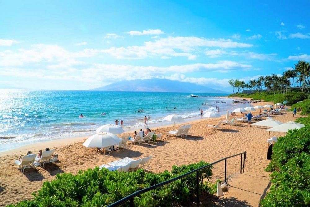 Mokapu Beach in South Maui