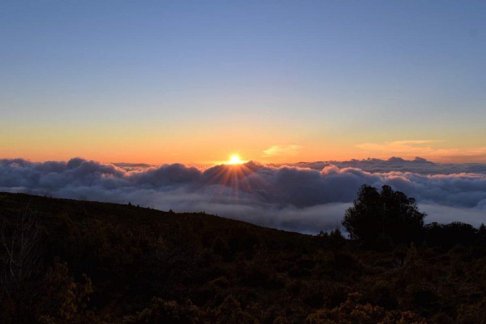 Sunrise in Haleakala National Park