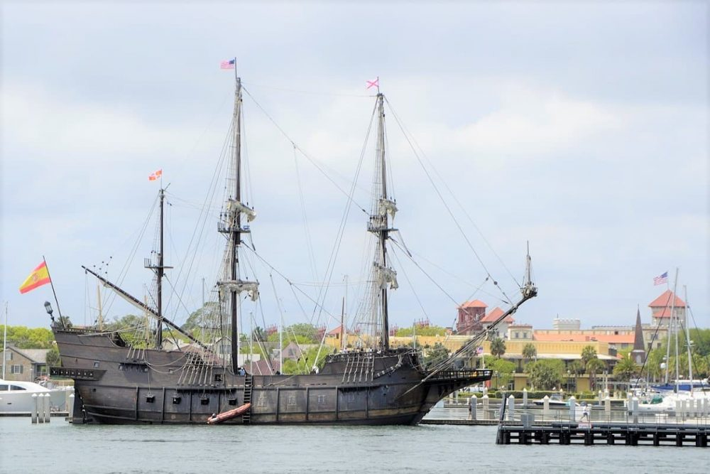 Old ship in St. Augustine