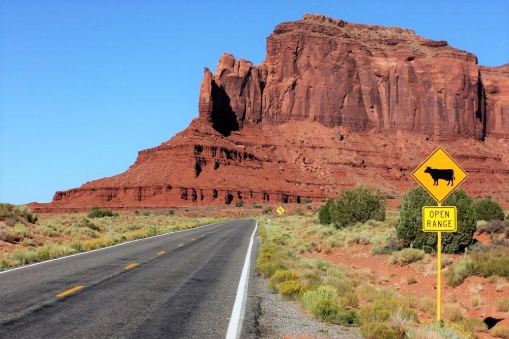 Arizona road trip to Monument Valley